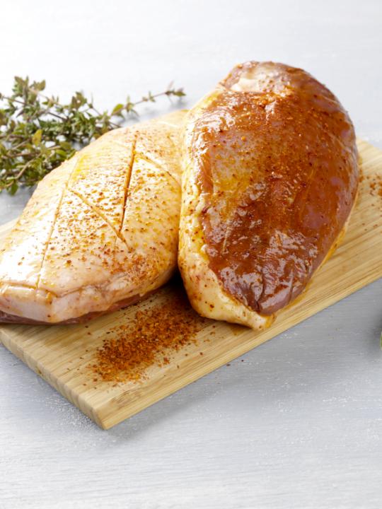 Magret de canard au piment d'Espelette